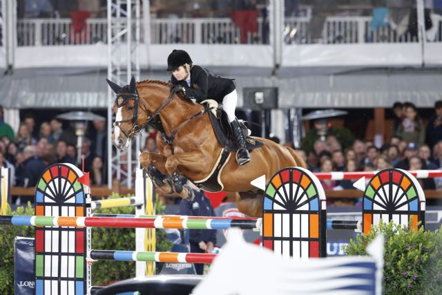 Edwina Tops-Alexander and Old Chap Tame